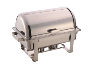 CHAFING DISH ROLL TOP GN 1/1, 9 L